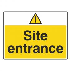 Site Entrance Sign (Large Landscape)