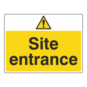Site Entrance Sign (Large Landscape)