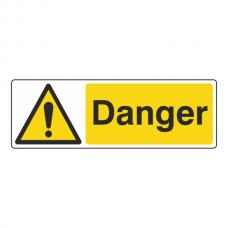 Danger Sign (Landscape)