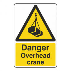 Danger Overhead Crane Sign