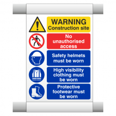 Site Safety Scaffold Banner 1