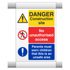 Site Safety Scaffold Banner 2