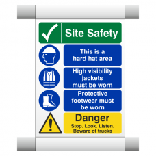 Site Safety Scaffold Banner 4