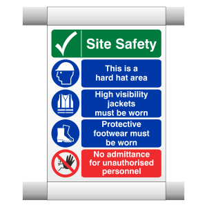 Site Safety Scaffold Banner 5
