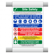 Site Safety Scaffold Banner 6