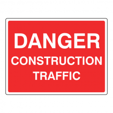 Danger Construction Traffic Sign
