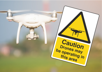 Drone Safety Signs