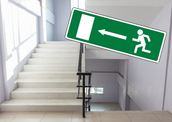 EC Directive Fire Exit & Exit Signs