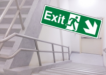 British Standard Exit Signs