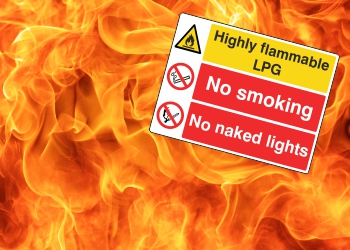 Fire & Flammable Warning Signs