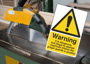 Machinery Warning Signs
