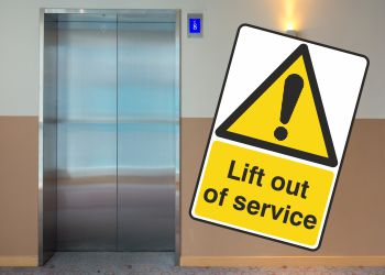 Lift Warning Signs