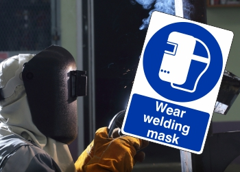 Mandatory Eye & Face Protection Signs