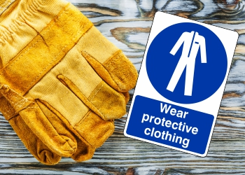 Mandatory Respiratory & Protective Clothing Signs
