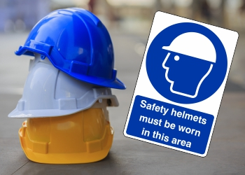 Mandatory Head Protection Signs