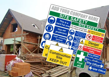 Construction Safety Sign Packs