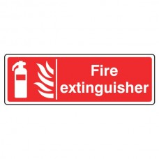 Fire Extinguisher Sign (Landscape)