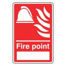 Fire Point Sign with Blank