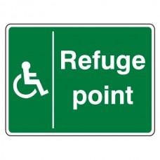 Refuge Point Sign