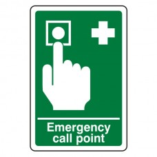 Emergency Call Point Sign