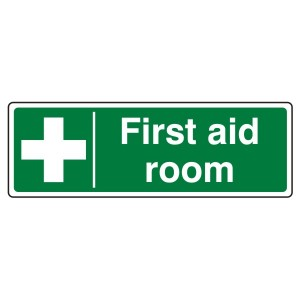 First Aid Room Sign (Landscape)