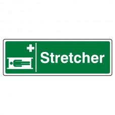 Stretcher Sign (Landscape)
