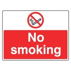 No Smoking Sign (Large Landscape)