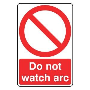Do Not Watch Arc Sign