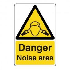 Danger Noise Area Sign