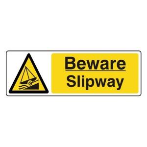 Beware Slipway Sign (Landscape)