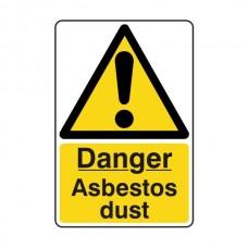 Danger Asbestos Dust Sign