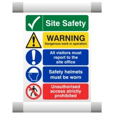 Site Safety Scaffold Banner 3