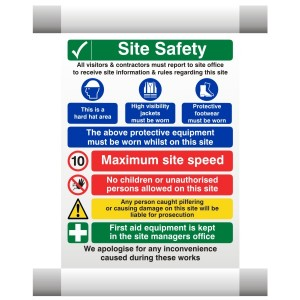 Site Safety Scaffold Banner 7