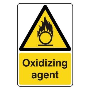 Oxidizing Agent Sign