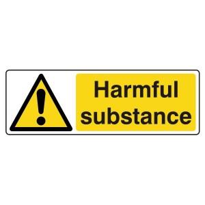 Harmful Substance Sign (Landscape)