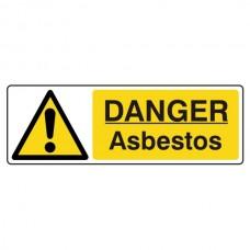 Danger Asbestos Sign (Landscape)