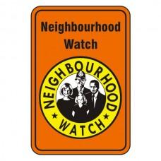 Neighbourhood Watch Sign (Orange)