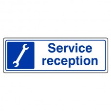 Service Reception Sign (Landscape)