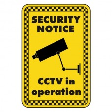 CCTV In Operation Security Sign