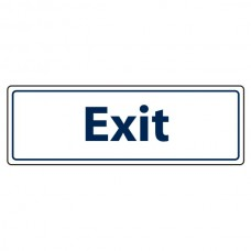 Exit Sign (Landscape)