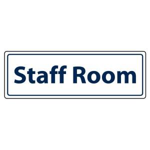 Staff Room Sign (Landscape)