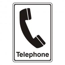 Telephone Sign (Portrait)