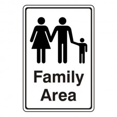 Family Area Sign