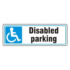 Parking - Disabled Parking Sign (Landscape)