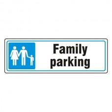Parking - Family Parking Sign (Landscape)