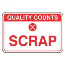 Scrap Sign (Large Landscape)