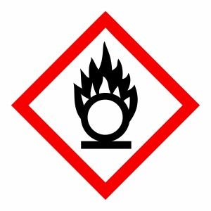 Oxidizing - CLP Sign (COSHH)