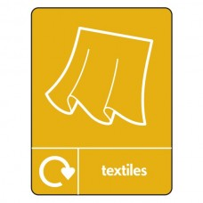 Textiles Recycling Sign (WRAP)