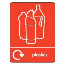 Plastics Recycling Sign (WRAP)