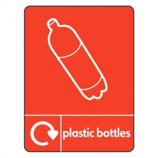 Plastic Bottles Recycling Sign (WRAP)